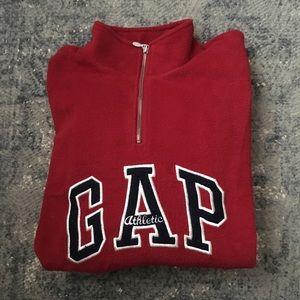 Vintage 90s Oversized GAP Quarter Zip Fleece